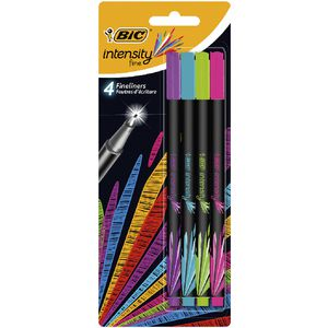 BIC Intensity Fineliner Fashion 4 Pack