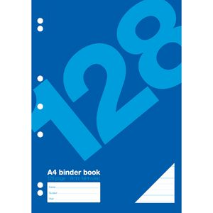 Value A4 Binder Book 128 Page