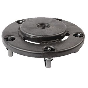 Rubbermaid Brute Round Dolly Black