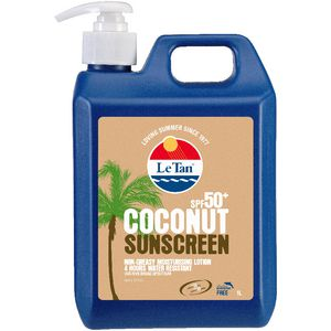 Le Tan SPF 50+ Coconut Lotion 1L