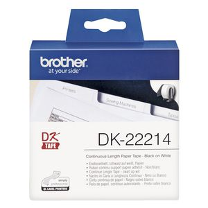 Brother Continuous Length Paper Tape DK-22214