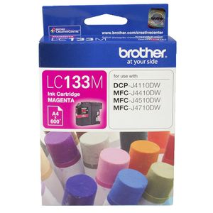 Brother LC-133 Ink Cartridge Magenta