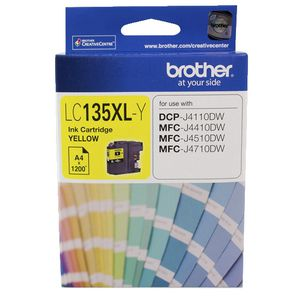 Brother LC-135 XL Ink Cartridge Yellow