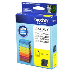 Brother LC-235XL Ink Cartridge Yellow