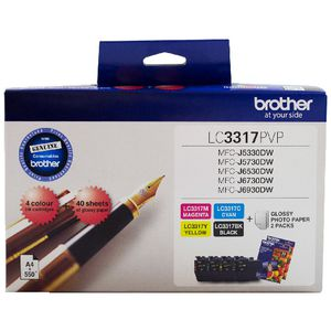 Brother LC3317 Ink Cartridge Value Pack