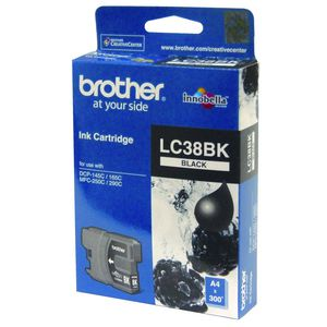 Brother LC-38 Ink Black