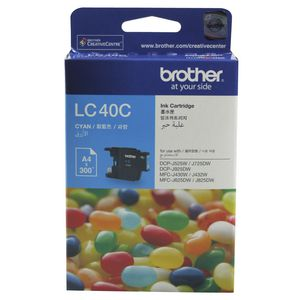 Brother LC-40 Ink Cartridge Cyan