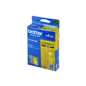 Brother LC-67 HC Ink Cartridge Yellow