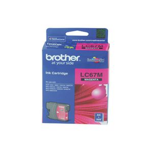 Brother LC-67 Ink Cartridge Magenta