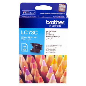 Brother LC-73 High Yield Ink Cartridge Cyan