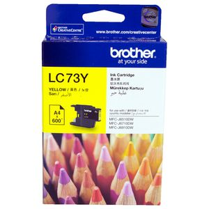 Brother LC-73 High Yield Ink Cartridge Yellow