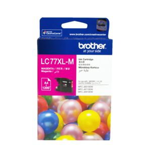 Brother LC-77XL Super High Yield Ink Cartridge Magenta