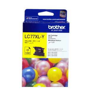 Brother LC-77XL Super High Yield Ink Cartridge Yellow