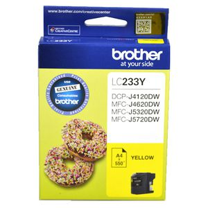 Brother LC-233 Ink Cartridge Yellow