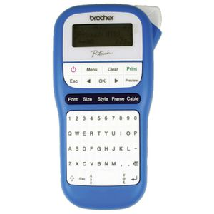 Brother P-touch Portable Label Maker Blue PT-H110