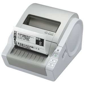Brother Desktop Label and Barcode Printer TD-4000