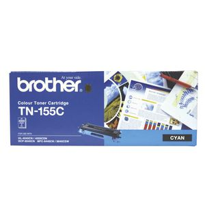 Brother TN-155C Toner Cartridge Cyan