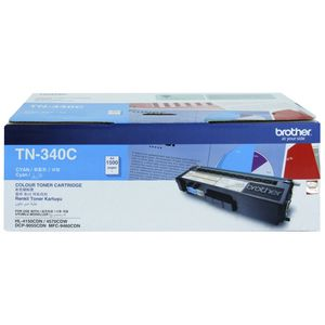 Brother TN-340 Toner Cartridge Cyan