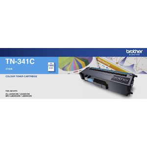 Brother TN-341 Toner Cartridge Cyan
