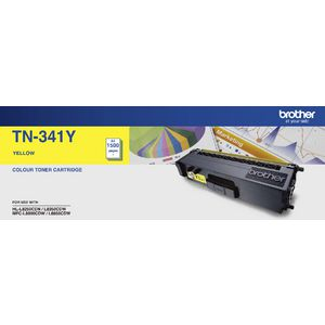 Brother TN-341 Toner Cartridge Yellow