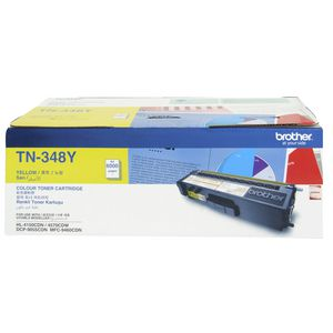 Brother TN-348 High Yield Toner Cartridge Yellow