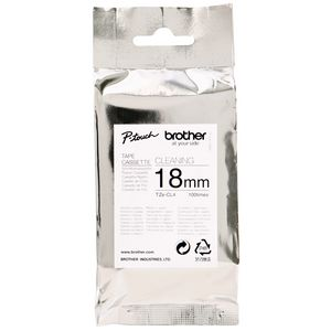 Brother 18mm Cleaning Head Cassette Tape