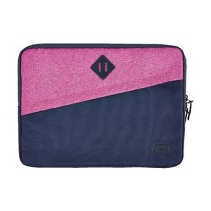 "J.Burrows 14.1"" Diamond Laptop Sleeve Pink/Navy"