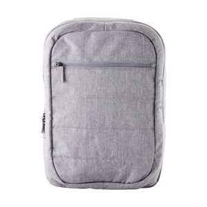 "J.Burrows 15.6"" Recycled Stitched Backpack Grey"