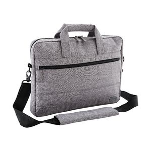 "J.Burrows 14.1"" Recycled Stitched Laptop Bag Grey"