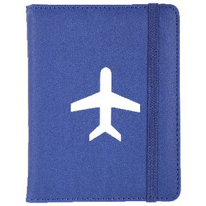 Bon Voyage Passport Cover Blue