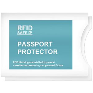Bon Voyage RFID Passport Cover 2 Pack