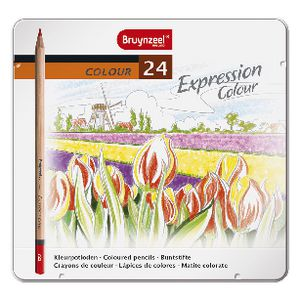 Bruynzeel Expression Coloured Pencils 24 Pack