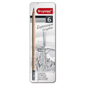Bruynzeel Expression Graphite Pencils 6 Pack