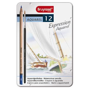 Bruynzeel Expression Aquarelle Pencils 12 Pack