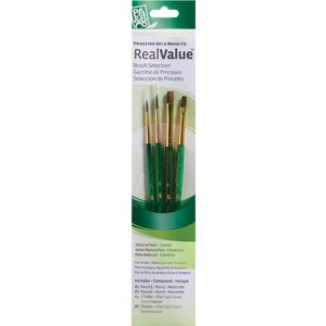 Princeton 9110 Paintbrush Set 4 Pack