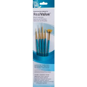 Princeton 9170 Paint Brush Set 5 Pack