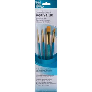 Princeton 9172 Paintbrush Set 4 Pack