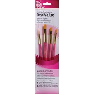 Princeton 9181 Paint Brush Set 4 Pack