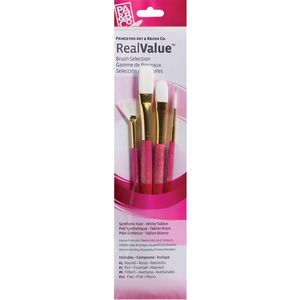Princeton 9182 Paintbrush Set 4 Pack