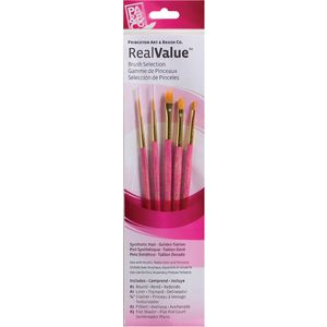 Princeton 9184 Paintbrush Set 5 Pack