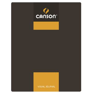 Canson A4 Visual Journal 120 Page Yellow