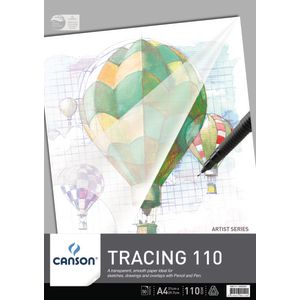 Canson A4 Tracing Pad 110gsm 50 Sheet