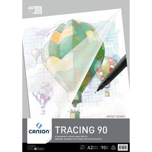 Canson A2 Tracing Pad 90gsm 50 Sheet