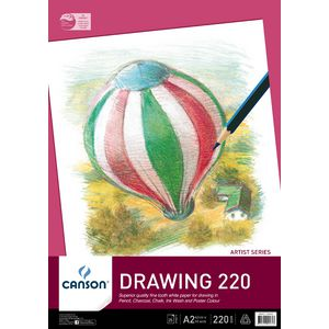 Canson A2 Drawing Pad 200gsm 25 Sheet
