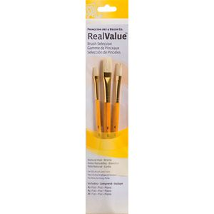 Princeton 9104 Paintbrush Set 3 Pack
