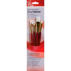 Princeton 9120 Paintbrush Set 4 Pack