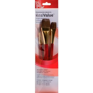 Princeton 9122 Paint Brush Set 3 Pack