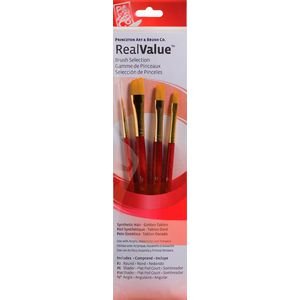 Princeton 9123 Paint Brush Set 4 Pack