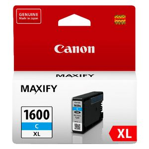 Canon PGI-1600XL Ink Cartridge Cyan