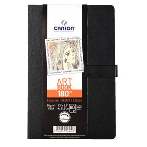 "Canson Art Book 5.5 x 8.5"" 80 Sheets 96gsm"